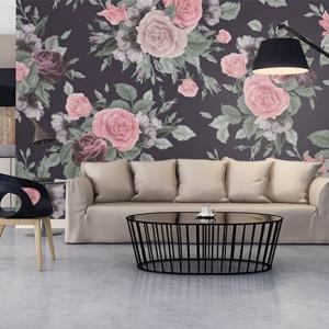 Contemporary fresh interior, contemporary kitchen and living