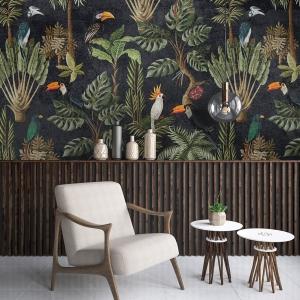 Hipster style interior background, 3D render
