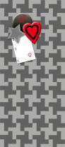 Fototapeta Young 122 - Kary , Poker , Szarości , Serce , Figury