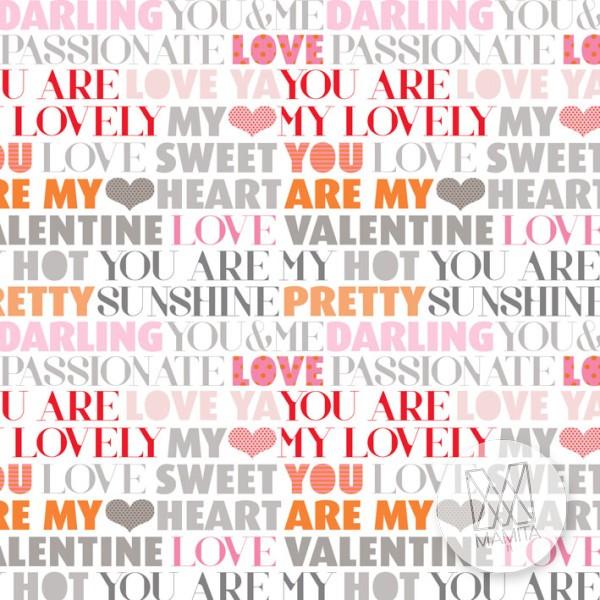 Fototapeta Young 24 - napisy, teksty, litery, heart, pretty, lovely