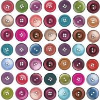 Fototapeta Young 57 - kolorowe guziki
