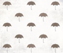Fototapeta Young 80 - Parasolki , Szarości , Brązy