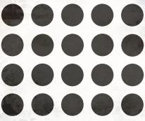 Fototapeta Young 98 - Czarne kropy , Betonowe tło , Otwory