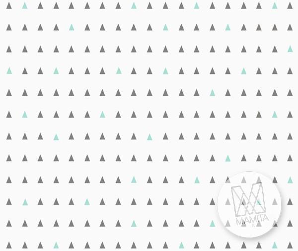 Fototapeta Junior 1 – trójkąty, nordyckie, scandy, skandynawia