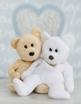 Fototapeta Junior 23 – misie kochankowie, przytulanki, pluszowe
