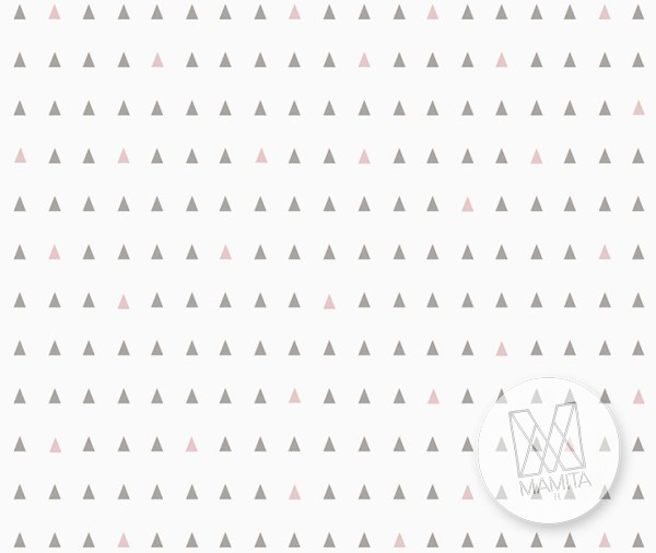 Fototapeta Junior 3 – scandy, scandia, nordyckie, trójkąty
