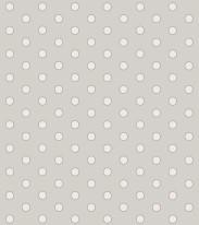 Fototapeta Junior 36– białe kropki, białe groszki, szare tło