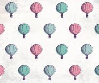Fototapeta Junior 55 – latające balony, kolorowe