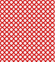 Fototapeta Junior 69 – czerwone kółka, okręgi