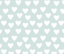 Fototapeta Junior 79 – serca, serduszka, niebieskie tło, turkusowe