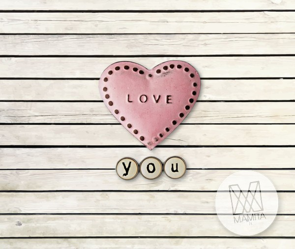 Fototapeta Junior 9 – serce love, deski, panele, drewno, naturalne