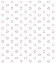 Fototapeta Junior 93 – różowe kółeczka, okręgi