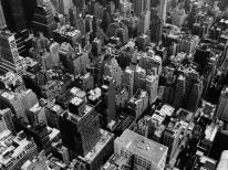 Fototapeta Salon 273 - duże miasto, nowy york, wieżowce, dachy