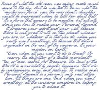 Fototapeta Salon 282 - cytat, napis na ścianie, mały książe