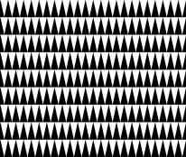 Fototapeta Salon 283 - scandy, czarne trójkąty, wzory