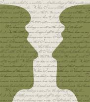Fototapeta NAPISY 45 - Duże głowy , Zielone , napisy,  cytaty , tekstyFototapeta NAPISY 45 - Duże głowy , Zielone , napisy,  cytaty , teksty
