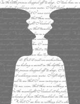 Fototapeta NAPISY 49 - Teksty , szare ciemne głowy ,cytaty , napisy