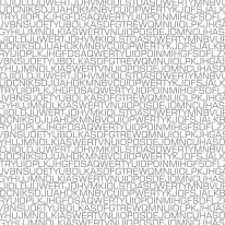 FOTOTAPETA NAPISY 5 – Alfabet , losowe litery , miksacja, szare