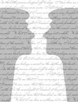 Fototapeta NAPISY 51 - Szare twarze , szare cytaty , napisy , teksty , głowy ,
