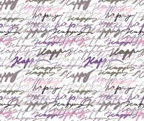 Fototapeta NAPISY 79 - Teksty , Napisy ręcznie piasne , pastelowe , fiolety , róże