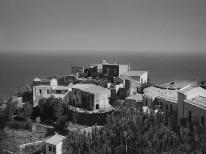 Fototapeta południowe klimaty 80 - savoca, sycylia, miasto, wzgórze