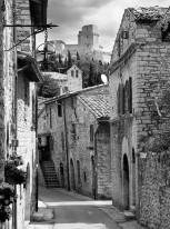 Fototapeta południowe klimaty 83 - stara uliczka, kamienice, kamienna ulica