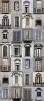 Fototapeta Salon 123 - uliczki, kamienice, okna, okiennice, stare miasto, fiolety