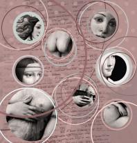 Fototapeta Salon 20 - Madonny , Obrazy , Da Vinci , kobiety , miskacja , marsala