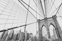 Fototapeta Salon 42 - most brukliński, brooklyn bridge, new york