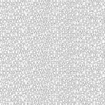 Fototapeta Salon 50 - napisy, teksty, litery, szare, szarości, czarno białe
