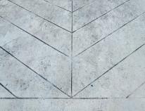 beton wall, ściana betonowa, beton, jodełka, wzory na betonie