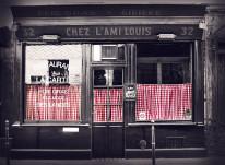 Fototapeta do kuchni 112 - witryna sklepowa, kawiarnia, czarna