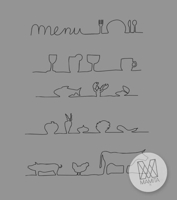 Fototapeta do kuchni 17 - menu, tablica, restauracja, kawiarnia