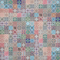 Fototapeta do kuchni 21 - mozaika, hiszpania, włochy, portugalia, kafle, kafelki, ceramika