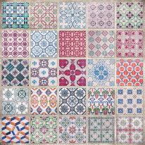Fototapeta do kuchni 22 - mozaika, hiszpania, włochy, portugalia, kafle, kafelki, ceramika