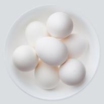 Fototapeta do kuchni 25 - jajka na talerzu