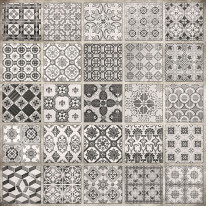 Fototapeta do kuchni 28 - kolorowa mozaika, hiszpańska włoska, portugalska