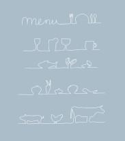 Fototapeta do kuchni 34 - tablica menu do kawiarni, restauracji