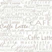 Fototapeta do kuchni 35 - kawa, cafe latte, napisy, teksty, wzory