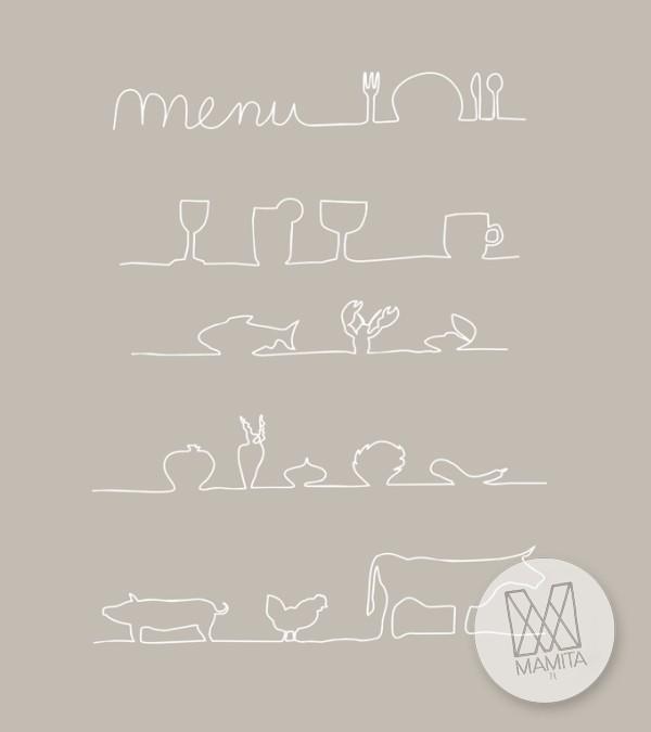 Fototapeta do kuchni 36 - menu tablica, restauracja, kawiarnia