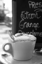 Fototapeta do kuchni 38 - cafe latte, kawa z pianką, kuchnia, kawiarnia, bar