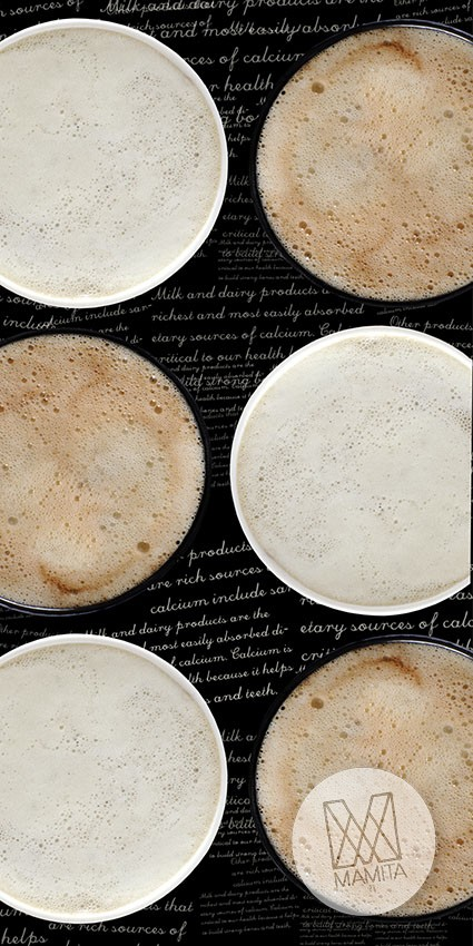 Fototapeta do kuchni 43 - filiżanki kawy, kubki, espresso, latte