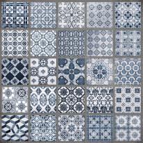 Fototapeta do kuchni 79 - portugalskie wzory, kafle, mozaiki