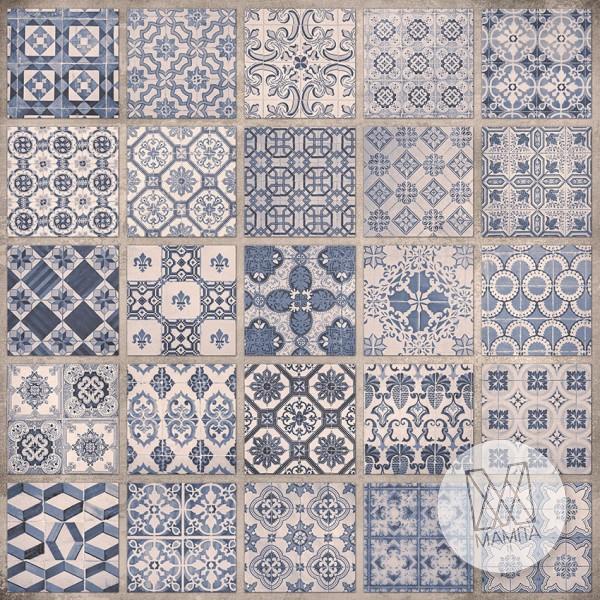 Fototapeta do kuchni 83 - mozaiki, kafelki, ceramika portugalska, hiszpańska