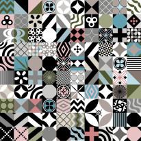 Nowość 11 - Miksacja , Patchwork , Stonowane kolory , Shape