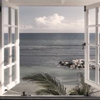Fototapeta południowe klimaty 12 - okno, morze, perspektywa, tropiki