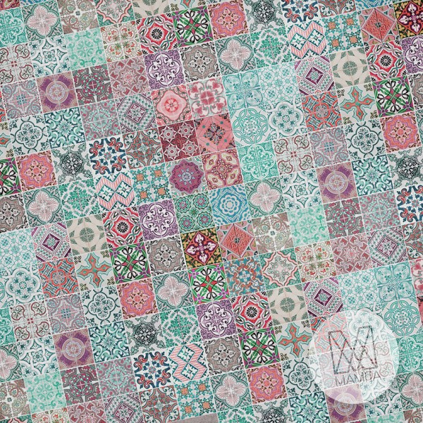 Fototapeta południowe klimaty 16 - kolorowa mozaika, kafelki
