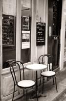 Fototapeta południowe klimaty 58 - uliczka, kafejka, paris