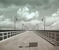 Fototapeta południowe klimaty 59 - molo, morze, gdynia, pomost