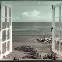 Fototapeta południowe klimaty 63 - okno, perspektywa, tropiki